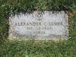 Alexander C Ulmer
