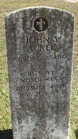 John S Acree