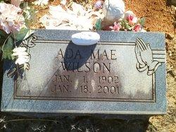 Ada Mae <I>Stephens</I> Wilson