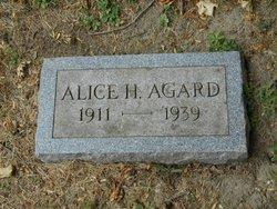Alice H Agard
