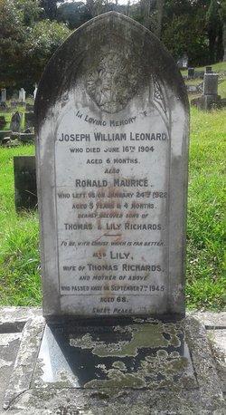 Joseph William Leonard Richards