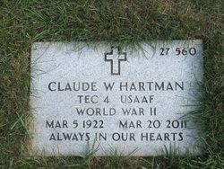 Claude W Hartman