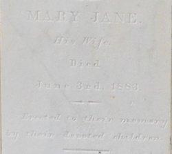 Mary Jane <I>McClellan</I> Rains