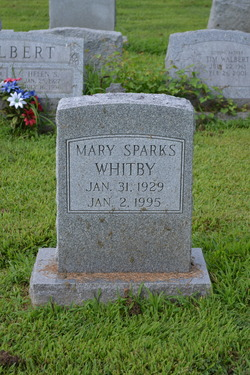 Mary <I>Sparks</I> Whitby
