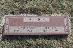 Rufus R Acre
