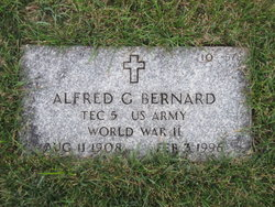 Alfred G Bernard