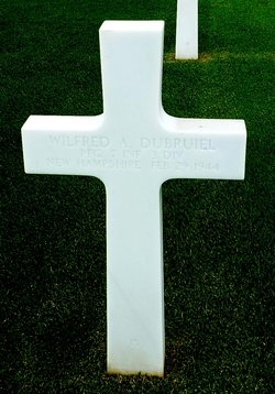 PFC Wilfred A Dubruiel