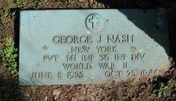 Pvt George J Nash
