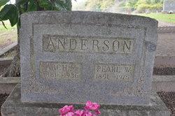 """Archibald McDonald """"Arch"""" Anderson"""