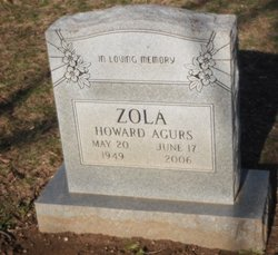 Zola Howard Agurs