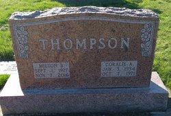 Milton Biggs Thompson