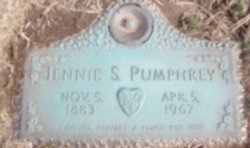 Jenny S Pumphrey