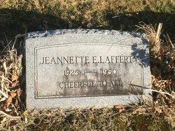 Jeanette E. Lafferty