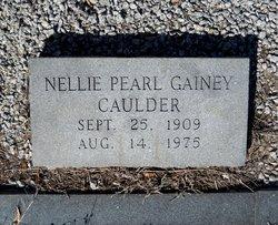 Nellie Pearl <I>Gainey</I> Caulder