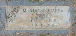 Montrose Joanna <I>K.</I> Reid
