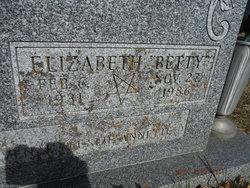 "Elizabeth ""Betty"" Daniels"