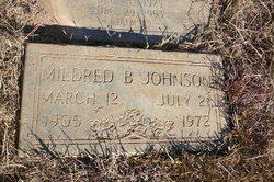 Mildred B Johnsom