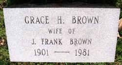 Grace May <I>Loftis</I> Brown