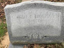 Willie C Thompson