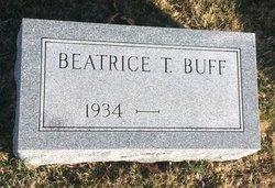 Beatrice T. Buff
