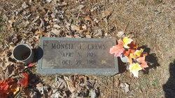Moncie E Crews