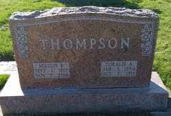 Coralie Alice <I>Wray</I> Thompson