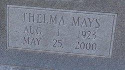 Thelma Pearl <I>Mays</I> Bayliff