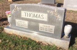 Gertie <I>Dew</I> Thomas