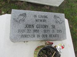John Guidry, Sr