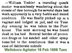 William D Vedder