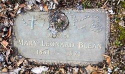 Mary Leonard Blean