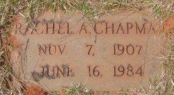 Rachel Audrey <I>M.</I> Chapman