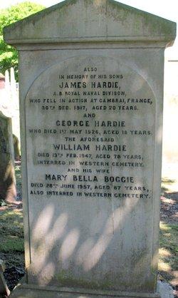 Mary Bella <I>Bogie</I> Hardie
