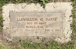 SGT Llewellyn Gordon Davis