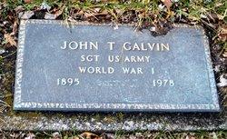 John T Galvin