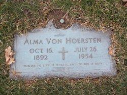 Alma Von Hoersten