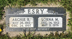 Archie R Esry