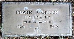 Edwin J Green