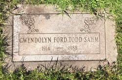 Gwendolyn Ford Todd Sahm