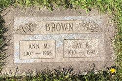 Ann M Brown