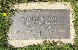 COL William David Croy
