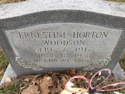 Ernestine <I>Horton</I> Woodson