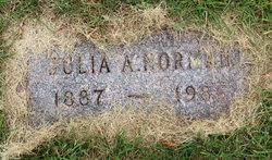 Julia A Norman