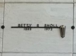Betty R. Sholl