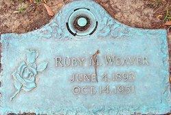 Ruby M. Weaver