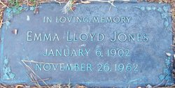 Emma <I>Lloyd</I> Jones
