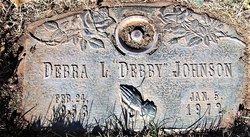 """Debra L """"Debby"""" Johnson"""