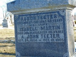 Isabell <I>Martin</I> Teeter