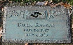 Doris <I>Hajel</I> Kanaan