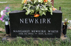 Margaret <I>Newkirk</I> Wirth